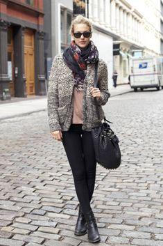 new york steet style   From New York..   International Street Style