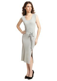 STELLA & JAMIE  Tie Waist Ashely Midi Dress