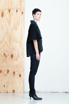 MEM SAMURAI Taito housut. The most ecological clothing collection in the world comes from Helsinki Finland, and it is made from old denim jeans! MEM Samurai by Paula Malleus. View the full lookbook at weecos.com. Eco fashion sustainable upcycle recycled clothes.