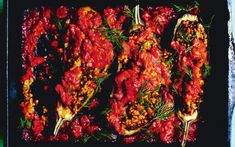 Vegan Life, Tandoori Chicken, Eggplant, Zucchini, Veggies, Ethnic Recipes, Persian, Foods, Eggplants