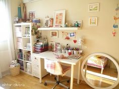 Sewing and craft room inspiration
