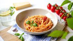Fetás paradicsomos tészta recept | Annuskám receptek videóval