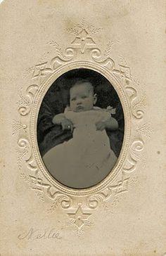 "Vintage ""Nellie"" Tintype...So Precious!"