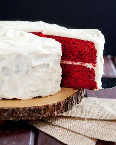 Perfect Red Velvet Cake Recipe FROM SCRATCH! Just the right hint of chocolate with a kick, it's everything you'd want from a classic Southern red velvet.