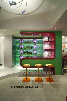 Playroom In Villa In Athens,Greece Design: Nikos Zouboulis   Titsa Grekou    Sofia