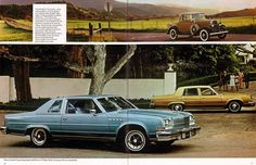 1978 Buick sales literature, featuring the Electra.