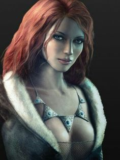 "Triss Merigold from ""The Witcher"" Fantasy Women, Fantasy Rpg, Fantasy Girl, Fantasy Artwork, Fantasy Heroes, The Witcher Game, Witcher Art, Witcher 3 Wild Hunt, Female Character Design"