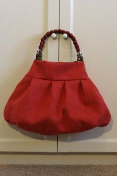 This purse tutorial walks you step by step through the process of sewing your own look alike!