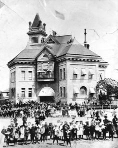 K Street School/Emerson, 1897 Fresno, California