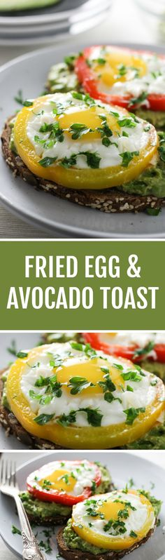 This Egg Avocado Toast is filling and very easy to make. It's perfect for breakfast or brunch and can also be served with a side salad for lunch or dinner.