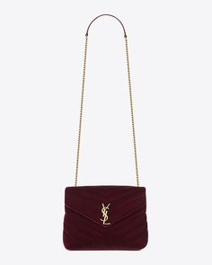 898c3ecd99b7 small loulou bag in burgundy