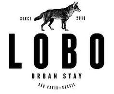 LOBO URBAN STAY - guesthouse em São Paulo. Logo assinado por Zé Renato Maia