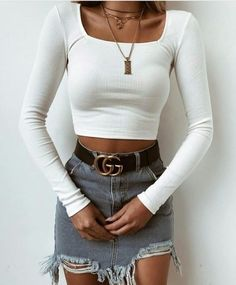 100 Styles That Will Pull You Out Of The Ordinary - Herren- und Damenmode - Kleidung Mode Outfits, Trendy Outfits, Fashion Outfits, Womens Fashion, Fashion Trends, Casual Outfits Summer Classy, Fashion Ideas, Trendy Jeans, Classy Casual