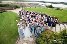 An exquisite Lochside House Wedding with a palette of Tiffany Blue and handcrafted special touches. Photos by Gary Bonar Photography - www.garybonarphotography.com
