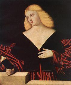 Portrait of a Woman 1 by Bernardino Licinio