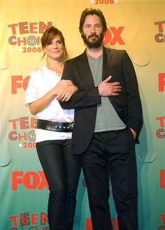 Keanu Reeves & Sandra Bullock