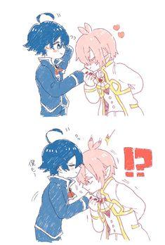 Otaku Anime, Manga Anime, Anime Art, Yaoi Hard Manga, Demon King, Cute Anime Character, Cartoon Pics, Anime Ships, Doujinshi