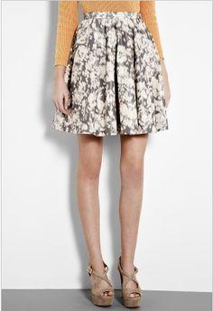 acne full skirt... pretty floral!