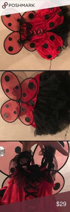 Ladybug Costume(high quality 4t) Never warn Costumes Halloween