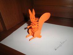 veverka z papíru - Hledat Googlem