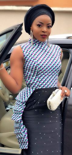 10 African Fashion Styles to Try in 2018 Latest African Fashion Dresses, African Print Dresses, African Dresses For Women, African Print Fashion, Africa Fashion, African Wear, African Attire, African Women, African Prints