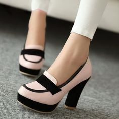 Complete your stylish and sexy look with Ericdress women pumps. Choose from Pumps Heels, Peep Toe Pumps, Wedge Pumps and other well pumps. Pumps Shoes are in great demand now. Pretty Shoes, Beautiful Shoes, Cute Shoes, Me Too Shoes, Dream Shoes, Crazy Shoes, Shoe Boots, Shoes Sandals, Shoes Sneakers