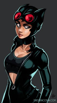 Cat Woman Cosplay Catwoman wearing a sports bra; so sensible! Catwoman Comic, Catwoman Cosplay, Batman And Catwoman, Batman Vs Superman, Spiderman, Marvel Dc Movies, Hq Marvel, Comic Book Girl, Comic Art Girls
