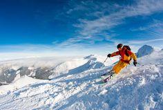 JASNÁ V ZIME - Jasná Nízke Tatry Mountain Resort, Alps, Mount Everest, Skiing, Sky, Mountains, Country, Resorts, Boxes