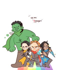We are Revengers (aka team thor :)