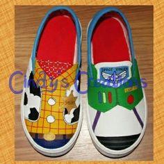 Vans Toy Story Woody turquesa