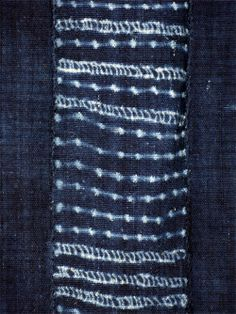 indigo tie dye | Bamana Antique Indigo Tie-dye Cloth (#ind-16)