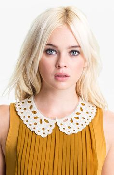Cara 'Lacy Lady' Collar Necklace available at #Nordstrom