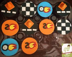 Hot wheels Cupcakes  By Cakesbyme