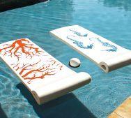 Nautical pool beach floater chairs <3