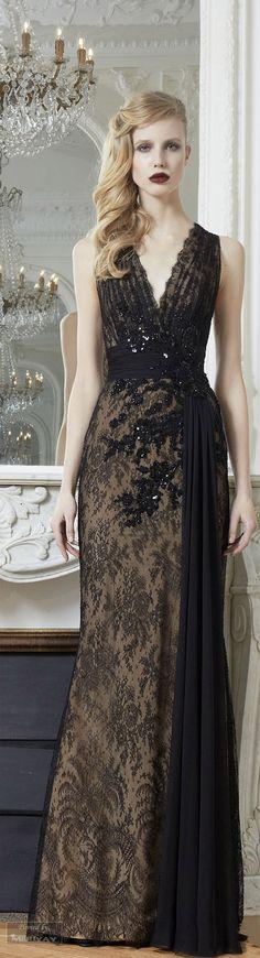 Zuhair Murad. #Moda #Fashion  #Mexico ¿Vestido negro para el día? Sí se puede
