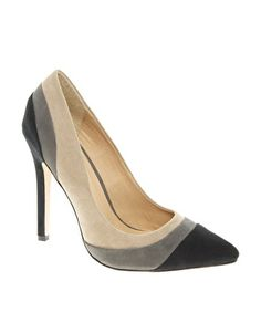 ASOS PIPER Pointed High Heels with Colour Block