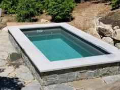 Browse the photo gallery of some of our beautiful plunge pools in a variety of settings and designs. Swimming Pools Backyard, Swimming Pool Designs, Garden Pool, Mini Pool, Backyard Pool Designs, Small Backyard Patio, Spool Pool, Small Pool Design, Small Pools