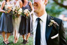 i like the color of bridesmaid dresses