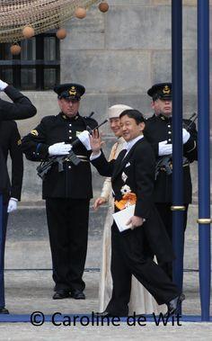 De Japanse kroonprinses Masako en haar man kroonprins Nahurito
