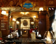 Harry's Bar Roma - at the top of the Via Veneto. Great atmosphere.  Nice place to grab a drink or dinner.