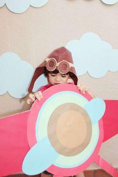 Cumpleaños aviador - Decoración de fiestas en All Lovely Party