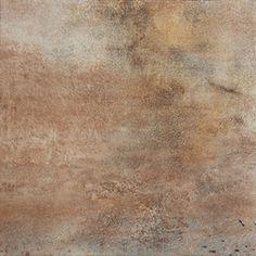 FLOORS 2000�7-Pack 18-in x 18-in Iron Brown Glazed Porcelain Floor Tile