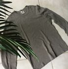 ◔❀ j.crew men's #long sleeve crew neck 100% #cotton shirt #XL Gray Great offer http://ebay.to/2vs9CbM