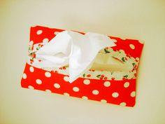 {costura} porta lenço de papel