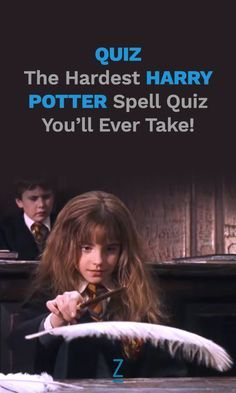 The Hardest 'Harry Potter' Spell Quiz You'll Ever Take