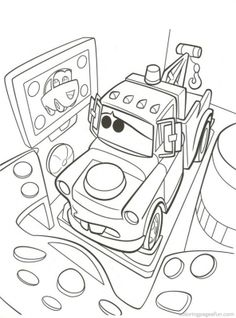 Disney Cars Printable Coloring Pages | Disney Cars Coloring Pages 78 - Free Printable Coloring Pages ...