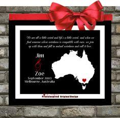 Unique Wedding Anniversary Gifts Australia : Gift Ideas - Anniversary on Pinterest Anniversary gifts, Wedding ...