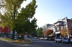 Downtown Ashland, Oregon