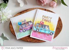 Come ride a limo with me and Waffleflower Crafts | Laureen Wagener