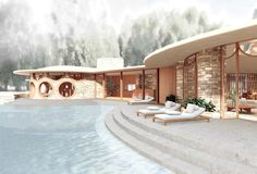 Explore Frank Lloyd Wright's Curvaceous Unbuilt House Design for Marilyn Monroe